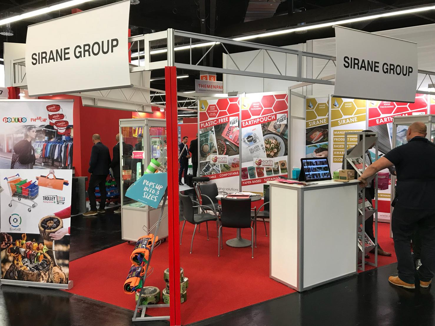 Sirane's stand at Fachpack in Nuremberg