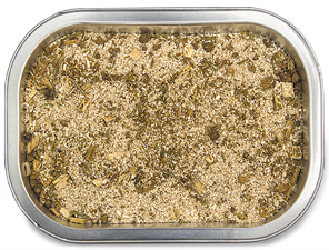 flavoured cooking bags for oven or BBQ use fine wood chips, hers and spices