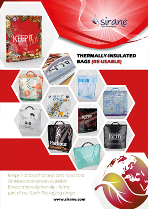 Thermally-Insulated Bags (Re-usable)