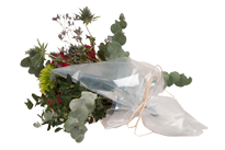Compostable flower wraps