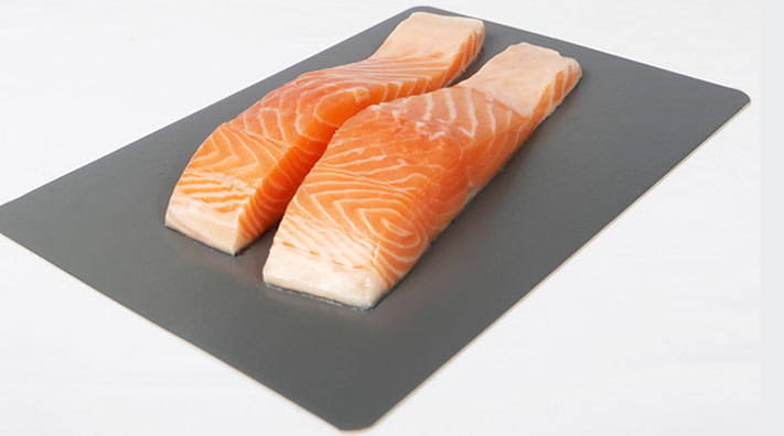 Plastic-free and recyclable salmon boards