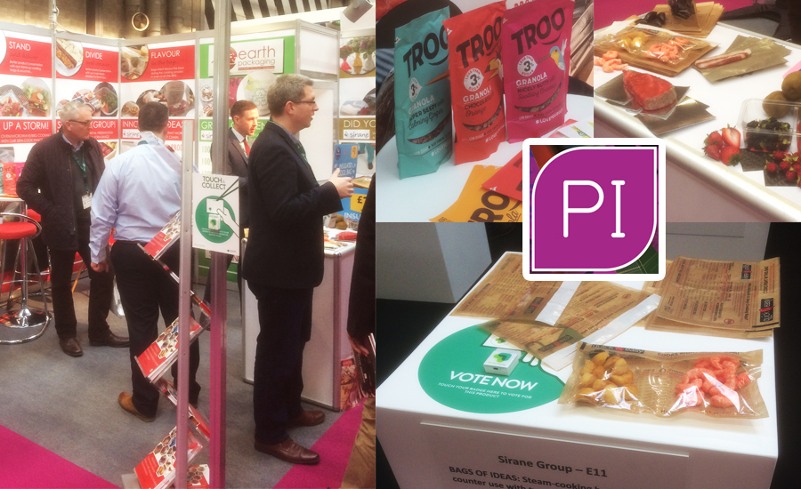 Sirane's 2018 stand at Packaging Innovations