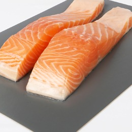 Plastic-free salmon boards