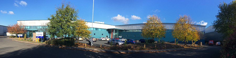 Sirane has significantly expanded its Telford HQ, taking over the adjacent unit