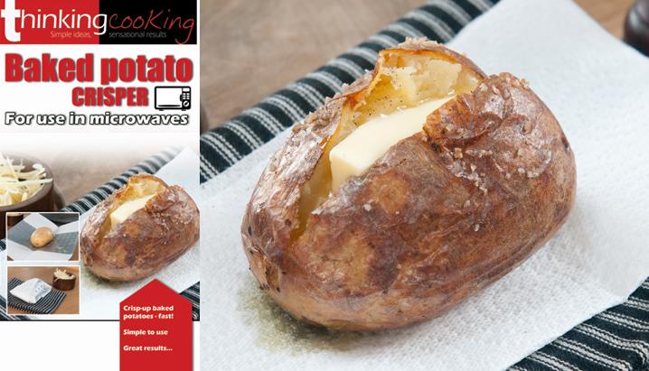 Potato Baker Crisp Baked Potatoes In The Microwave