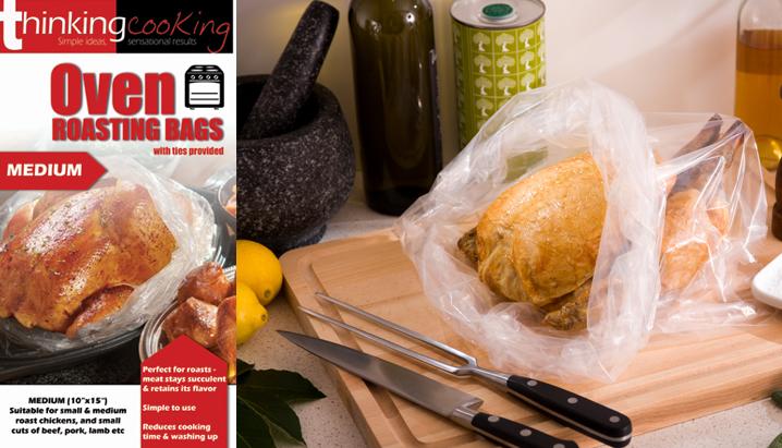 Roasting Bags Large Suitable For Roast Turkey