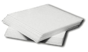 Absorbent meat pads for pre-padding