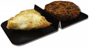 Ovenable tray dividers
